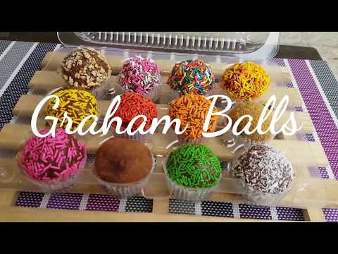 Graham balls | Munchkins | How to make Graham balls
