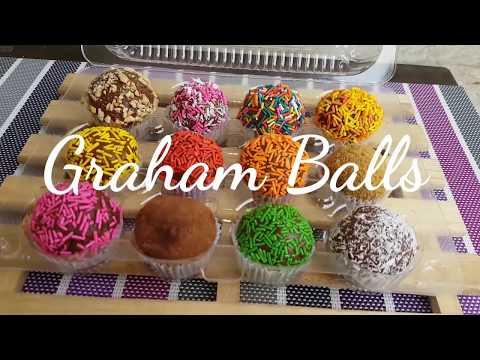 Graham Balls | Munchkins | How To Make Graham Balls