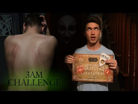 Thumbnail: OUIJA BOARD 3AM CHALLENGE GONE TERRIBLY WRONG // ZOZO ATTACKS!!