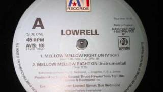lowrell mellow mellow (right on) 1979 AVI records