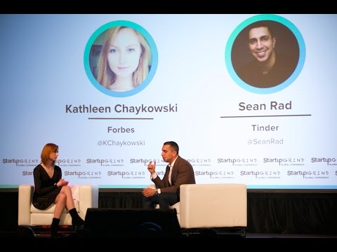 The Future of Dating is Artificial Intelligence | Sean Rad (Tinder) @ Startup Grind Global