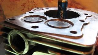 reglage soupapes .le point de bascule moteur 4 temps soupapes latérales.BERNARD W 328