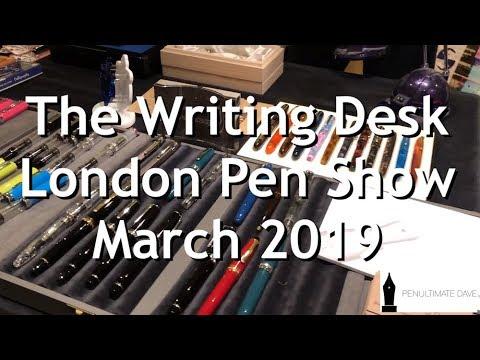 The Writing Desk - London UK Pen Show March 2019