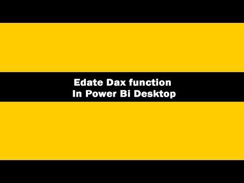 EDATE function (DAX) - Laxmi Skills What is Edate dax function?