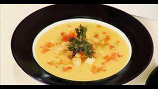Сырный суп / рецепт от шеф-повара /  Илья Лазерсон / Обед безбрачия / французская кухня