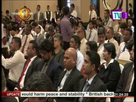 News1st:Sri Lanka - Tajikistan business meeting held in Colombo