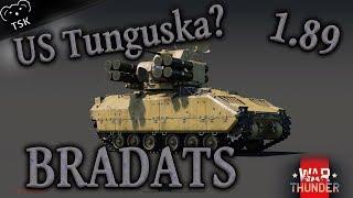 American Tunguska | Bradley ADATS! | War Thunder Update 1.89