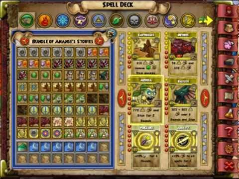 wizard 101 myth deck setup commentary youtube