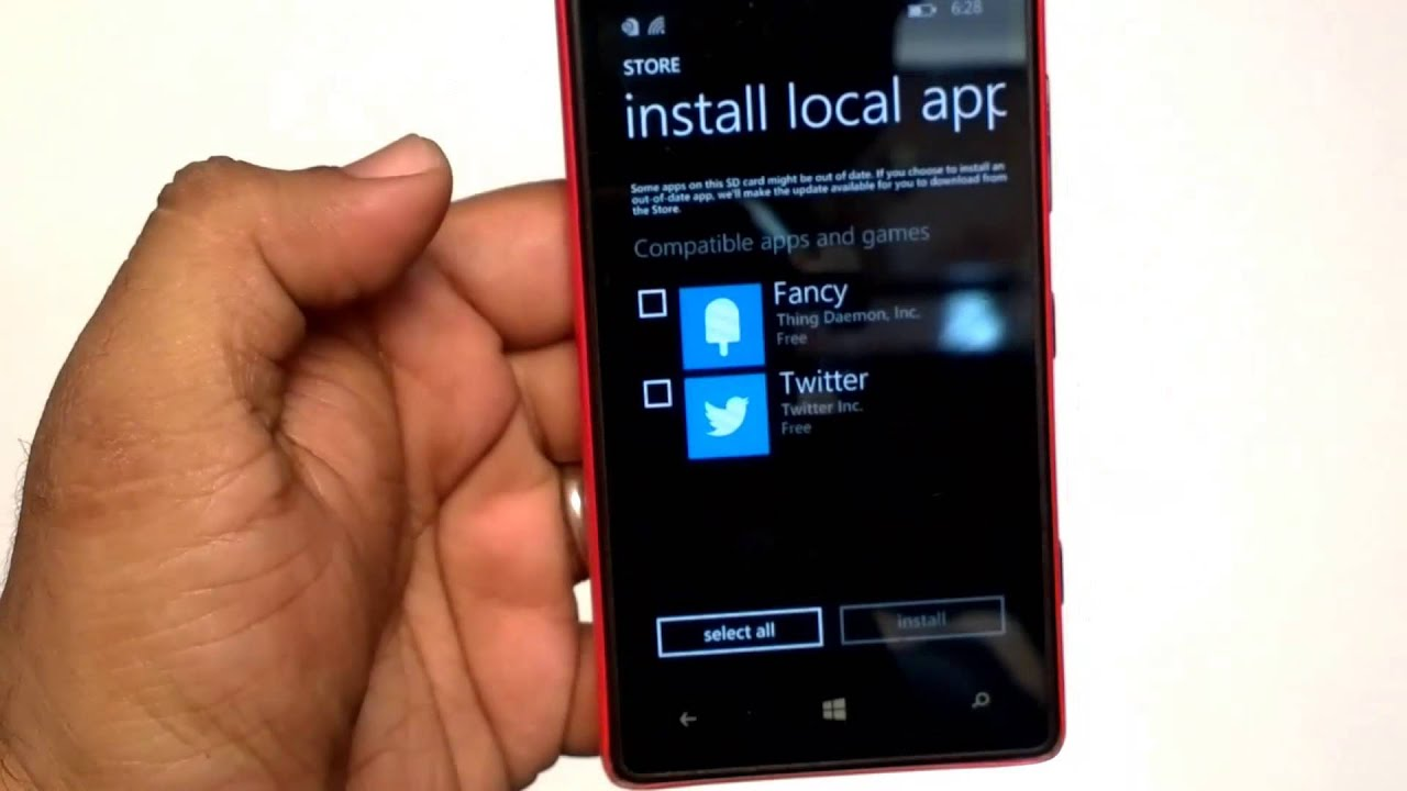 How To Install Xap File In Windows Phone 10 Manually