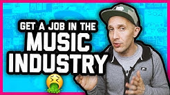 HOW TO GET A JOB IN THE MUSIC INDUSTRY - Viewer comments 06