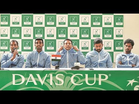 Bopanna / Sharan vs Berrettini  / Bolelli | India vs Italy LIVE | Davis Cup