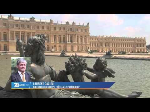 Versailles : bientôt un hôtel dans l'enceinte du château ?
