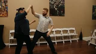 Kevin & Keely teach West Coast Swing @ DF Dance Studio!