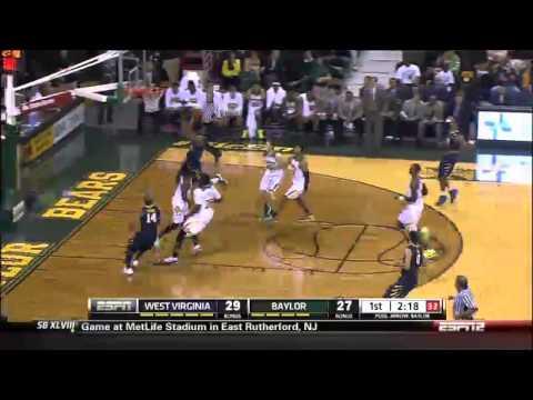 01/28/2014 West Virginia vs Baylor Men's Basketball Highlights