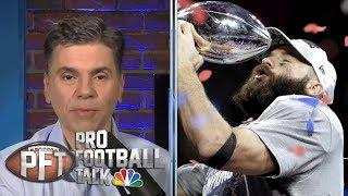 Julian Edelman has yet to explain himself over PED use | Pro Football Talk | NBC Sports