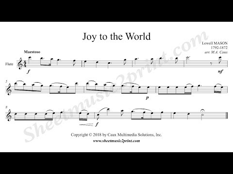 Joy to the World - Flute
