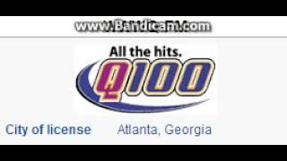 WWWQ 99.7 Q100 Atlanta, GA TOTH ID at 4:00 p.m. 5/18/2014