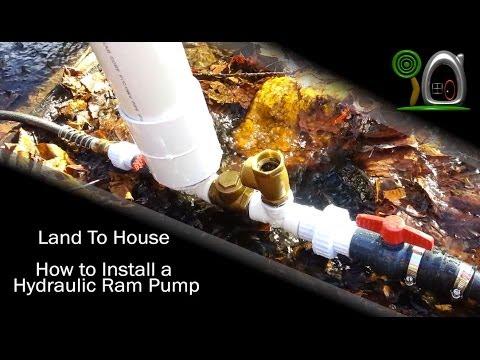 How to Install a Hydraulic Ram Pump