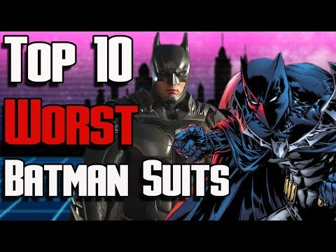 Top 10 WORST Batman Suits of All Time | DC Batman