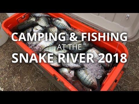 CAMPING AT THE SNAKE RIVER 2018 - VLOG 20180512 #55