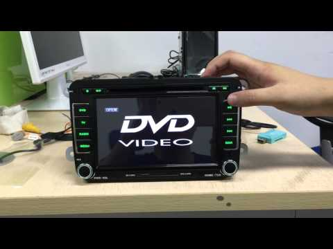 Android Car Stereo DVD Player Stuck,  Take Out Plastic, Customer Service From Joying