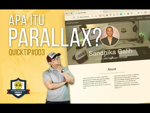 QuickTip #3 : APA ITU PARALLAX EFFECT?