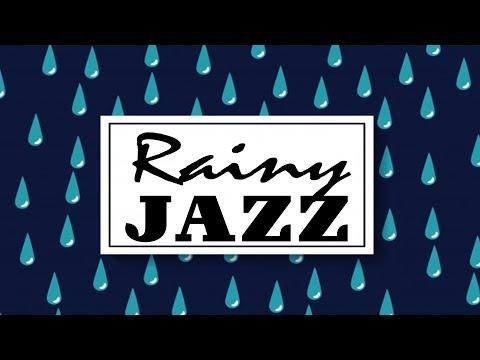 Rainy Jazz - Relaxing JAZZ  For Work & Study- Lounge Jazz Radio - Live Stream 24/7