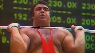 Vasily Alekseyev — 1975 World Weightlifting Championships.