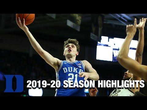 Matthew Hurt 2019-20 Season HIghlights | Duke Forward