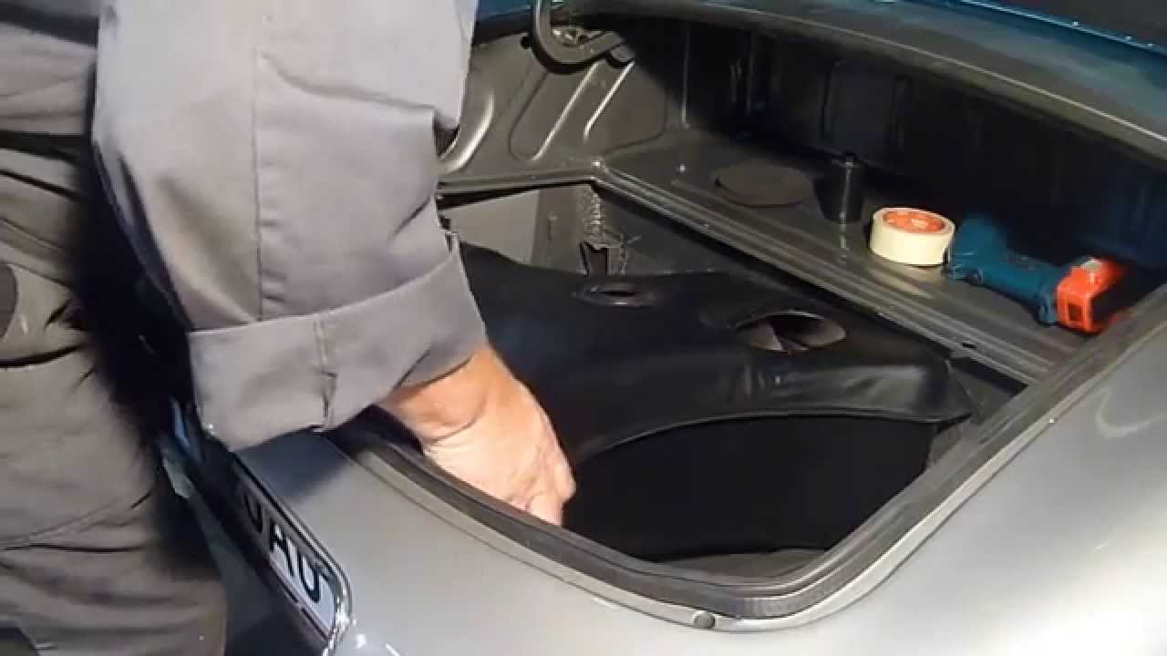Jaguar E Type Fuel Tank Fitting Part 1 Youtube