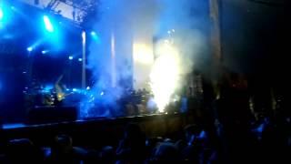 Zwarte Cross 2012 opening met Tante Rikie!