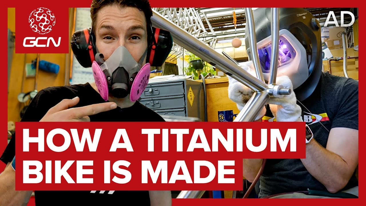 How A Titanium Bike Is Made | Moots Factory Tour - Living