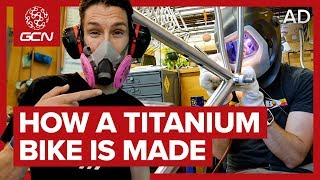 How A Titanium Bike Is Made | Moots Factory Tour