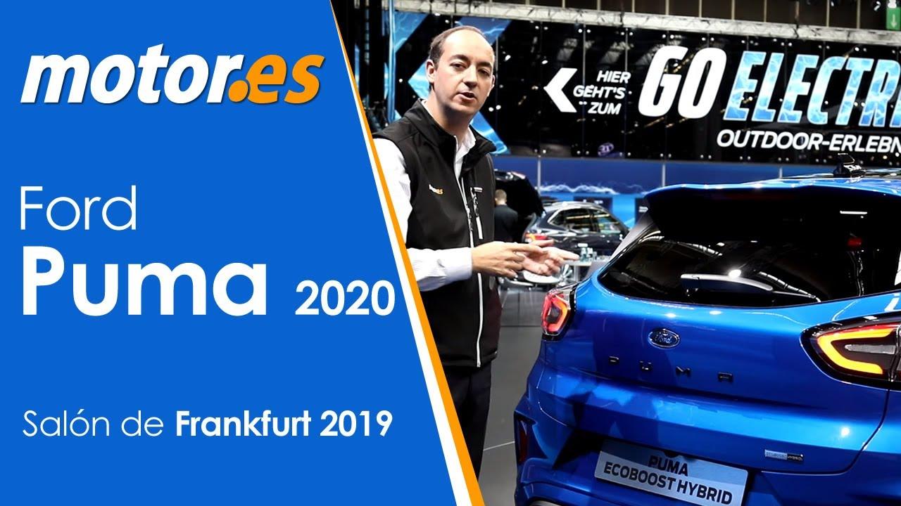 Correspondiente bomba Cerdito  Ford Puma 2020 | Presentación / Review Español | Frankfurt 2019 - YouTube