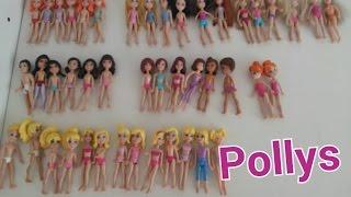 Mini Coleção de Pollys- Bonequinhas