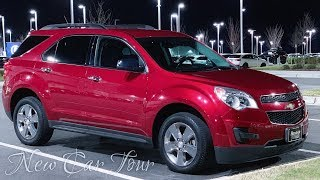 New Car/SUV Tour   My Acadia Was Totaled, So Now 2015 Chevrolet Equinox   Hendrick Southpoint