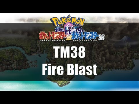 Pokemon Gold Silver & Crystal | Where To Get TM38 Fire Blast