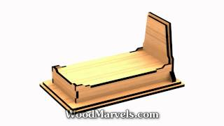 Serving Coffin: 3d Assembly Animation (1080hd)