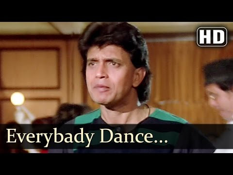 Dance Dance - Every Body Dance With Pa Pa Paa - Mithun Chakraborty - Bappi Lahiri Hits
