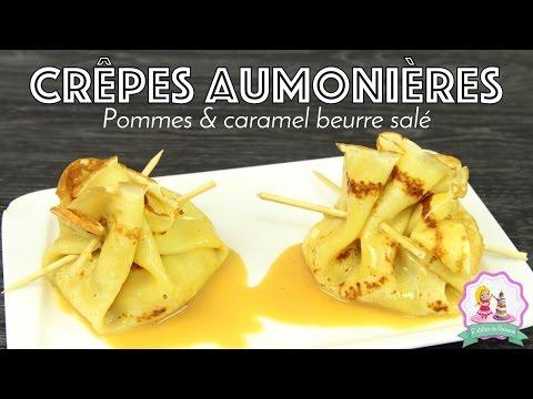 ♡• RECETTE CHANDELEUR CREPE AUMONIERE | CARAMEL BEURRE SALÉ & POMMES CARAMELISEES •♡