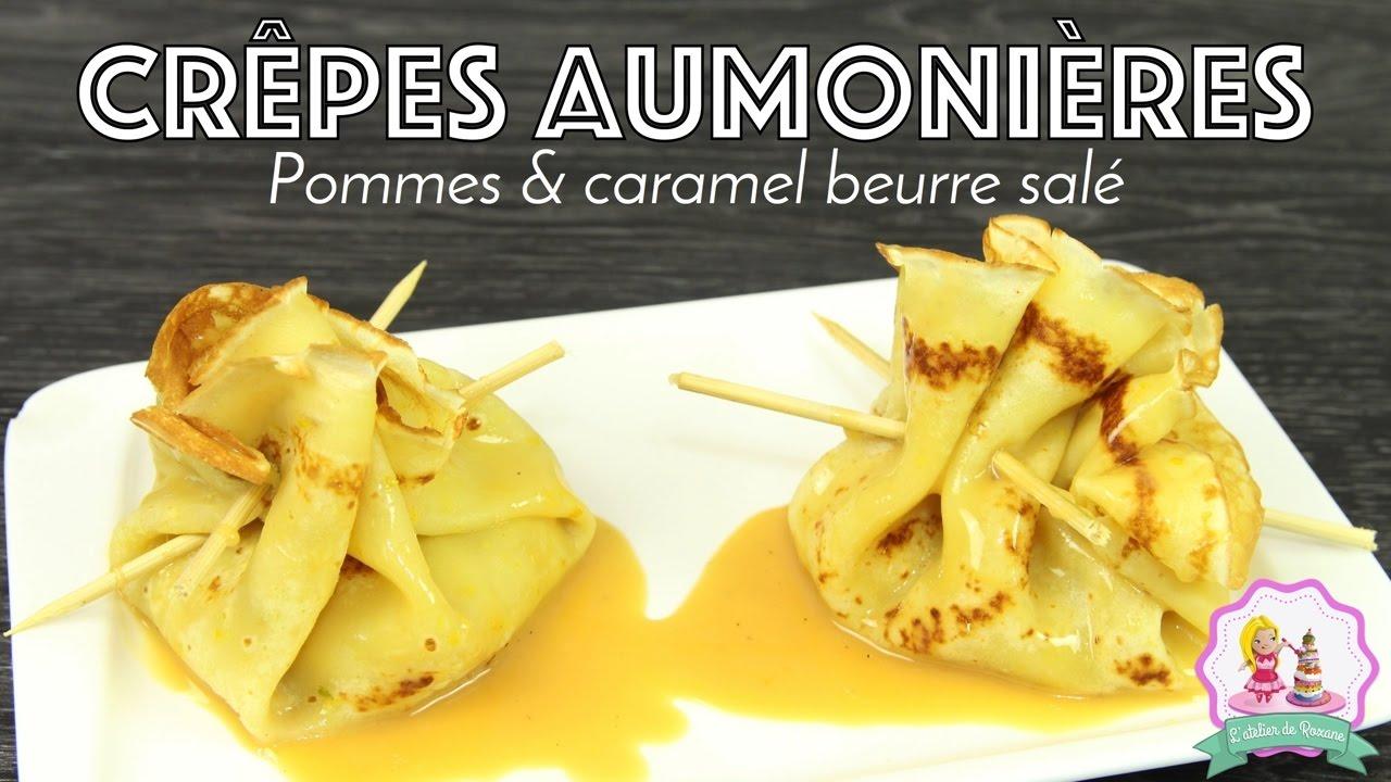 recette chandeleur crepe aumoniere caramel beurre sal 201 pommes caramelisees