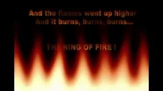 ADAM LAMBERT-RING OF FIRE lyrics