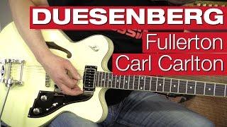 Duesenberg Fullerton Carl Carlton VW E-Gitarren-Review von session