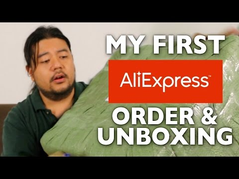 Alibaba Express Shipment Unboxing
