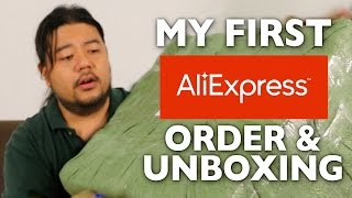 Alibaba Express Shipment Unboxing