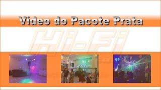 Demonstração Estrutura Pacote Prata - Hi-Fi - Dj, Som e Luz