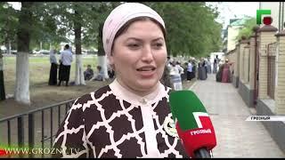 Чеченские школьники приняли участие в Общероссийском флешмобе «Селфи929»