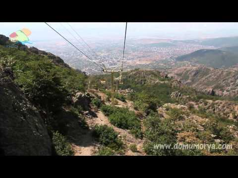 Cable car in Sliven - Bulgaria.
