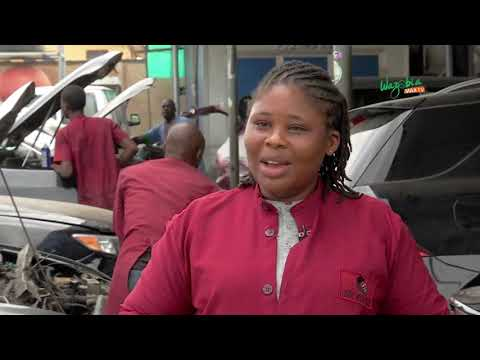 """SOMETIMES WHEN I AM NOT IN A GOOD MOOD IF I REPAIR A CAR I FEEL HAPPY""_Lady Mechanic"
