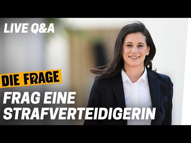 LIVE Q&A: Frag eine Strafverteidigerin | Wie gehen wir mit Schuld um? Folge 8